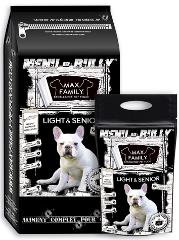 BULLY light senior MAX FAMILY PET FOOD