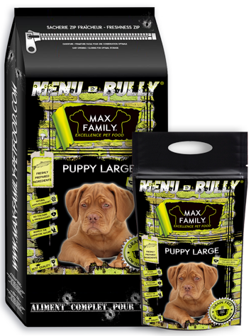 BULLY PUPPY LARGE MAX FAMILY PET FOOD