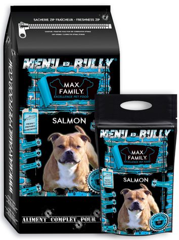 BULLY SALMON MAX FAMILY PET FOOD