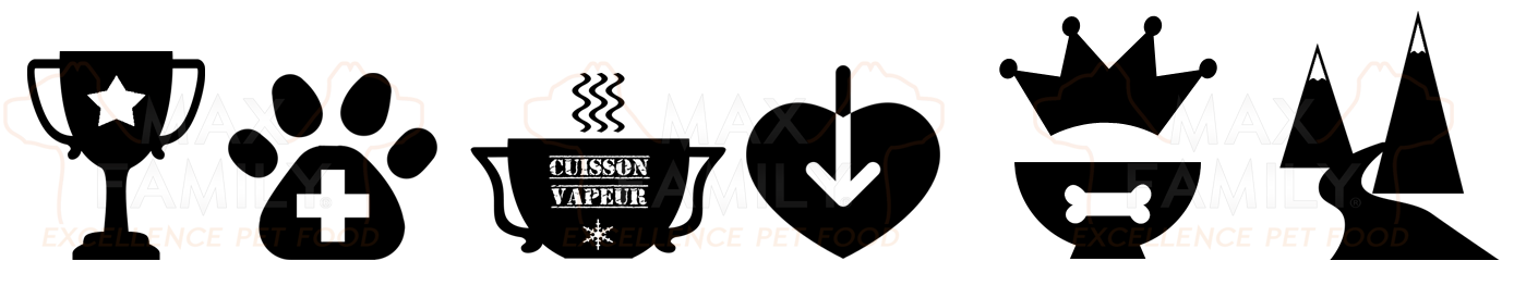 Recette gastronomique MAX FAMILY PET FOOD